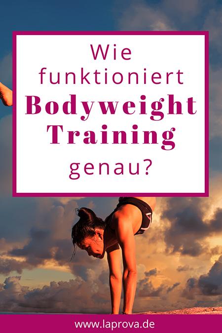 Pinterest Wie funktioniert Bodyweight Training genau
