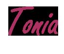 Unterschrift Tonia