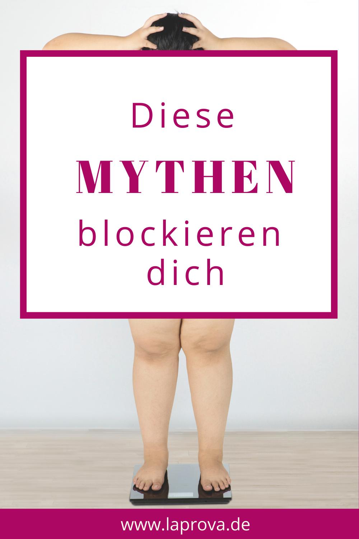 Pinterestbild 7 Mythen beim Abnehmen
