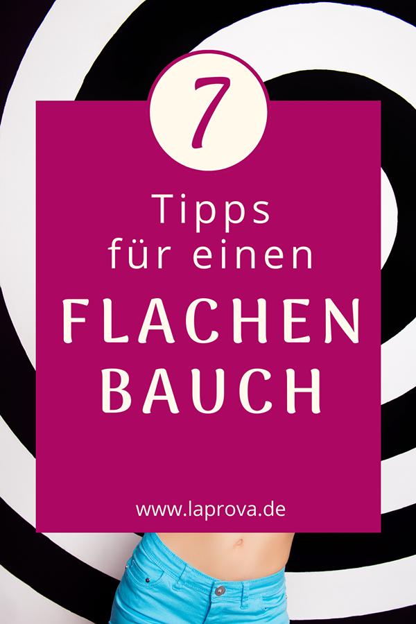 7 Tipps für einen flachen Bauch